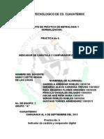 Reporte de Sexta Practica de Metrologia