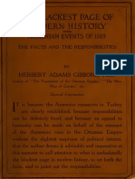 The Blackest Page of Modern History. Events in Armenian in 1915 (Hervert Adams Gibbons) 1916