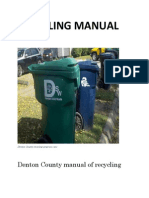 manual of recycling