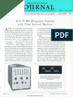 Hewlett Packard Frequency Counter