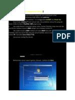 Cara Instal Ulang Windows 7 Menggunakan Flahdisk