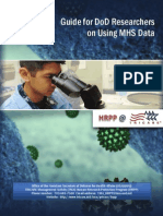 Guide for DoD Researchers on Using MHS Data