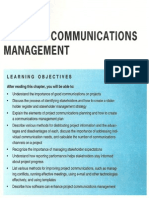 Chapter 10 - Project Communications Management