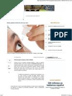 Quién padece síndrome del ojo seco - QUO mx
