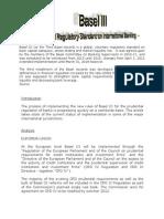 Basel III-A