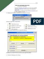 Practica de Bases de Datos (Altas, Bajas)