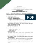 Pengumuman Rekrutmen Pegawai Non Pns Desember 2013