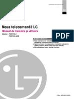 Manual de Utilizare Telecomanda LG ROMANA
