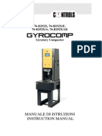 Manual Gyrocompactador