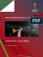 FIFA Prvenstvo Za Klubove 2013 - Program