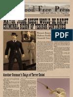 Deadwood Free Press Vol 2 Issue 20 RARE