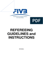FIVB VB Refereeing Guidelines and Instructions 2012