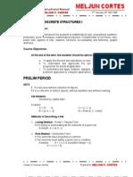 MELJUN CORTES MANUAL Discrete Structure CSCI08