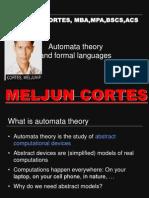 MELJUN CORTES Automata Theory  1