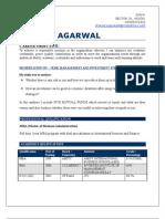Sharad Agarwal Resume
