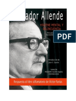 Salvador Allende - Higiene Mental e Delinquencia
