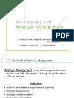 Chp001 Basic Concepts of Strategic Management