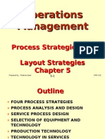 Operations Management (OPM530) -C5 Process & Layout