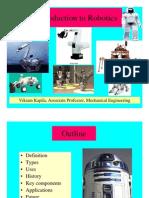 INTRO ROBOTICS