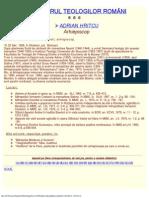 Dicționarul Teologilor Romani
