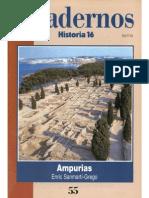 Cuadernos Historia 16, nº 055 - Ampurias