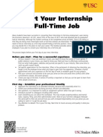Convert Internships Into FT