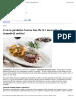 73818552 Con Le Proteine Buone Tonifichi i Muscoli e Ti Rimodelli Subito Obiettivo Benessere
