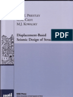 Displacement Based Seismic Design of Structures