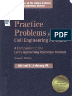 Practice Problems for the Civil Enginering PE Exam, 7th Ed