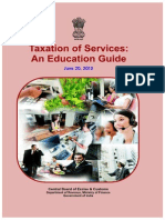 Service Tax Educational Guide (20.06.2012)