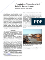 Seismic Risk Formulation of Atmospheric Steel Tanks in Oil Storage Systems