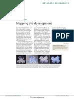 Rowan, A. 2006. Mapping Eye Development