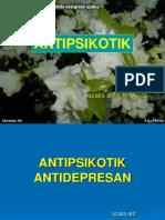 Antipsikotik - antidepresan