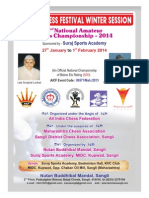 2nd National Amatuer Chess Championship 2014
