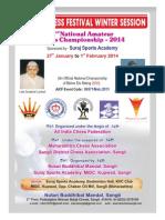 2nd National Amatuer Chess Championship 2014