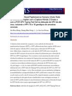 Comparação da Novel Papilomavírus Humano 4 Auto