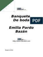 Pardo Bazán, Emilia - Banquete de boda (relato)