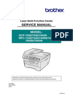 Service manual DCP7040 MFC7440N MFC7480W
