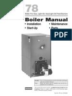 78 Manual - weil mclain boiler
