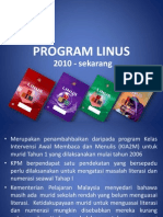 perkembangan Program Linus