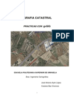 Cartografia Catastral-Practicas Con GvSIG