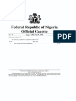 Ghana WAGP Regulations