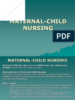 Maternal Child Nursing