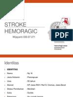 Stroke Hemoragic