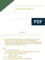 Evaluación Multiaxial DSM-IV