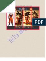 Goku, Patron Creado Por Yolita Amigurumis