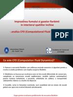 Imprastierea Fumului Si Gazelor Fierbinti - Analiza CFD