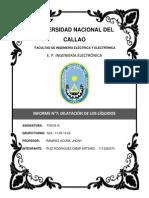 DILATACIÓN DE  LOS LÍQUIDOS