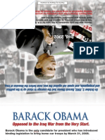 Barack Obama '08 Obama Iraq Handout
