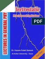 GeneralPhysics2ElectrostaticsHazeemSakeek